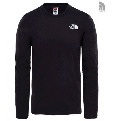 T-shirt L/s Easy Tee - The North Face (Black)