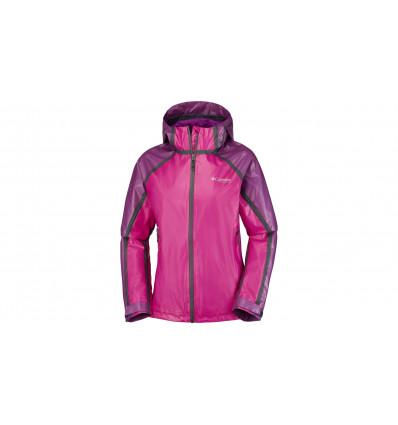 Veste imperméable Outdry Ex Gold Tech Shell Jkt Columbia (Groovy pink/intense violet) femme