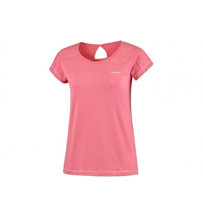Columbia Peak To Point Short Sleeve Shirt (red Camellia) femme