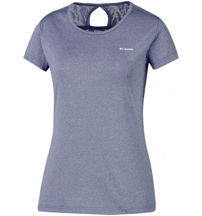 T-shirt Technique Columbia Peak To Point Novelty Femme (Nocturnal)