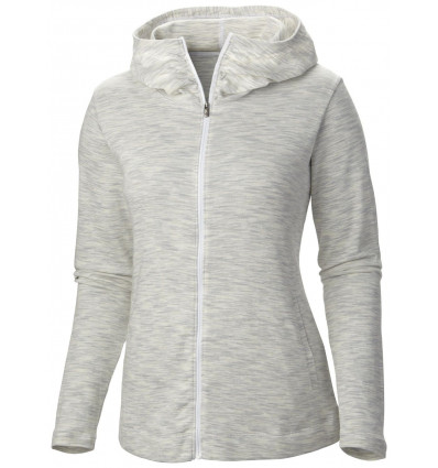 Sweat Capuche Columbia Outerspaced Femme (white)