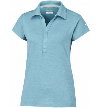 Polo Shadow Time Columbia Grande taille (Atoll) femme