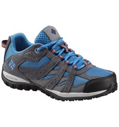 Chaussures Columbia Youth Redmond (Static blue, heatwave) enfant
