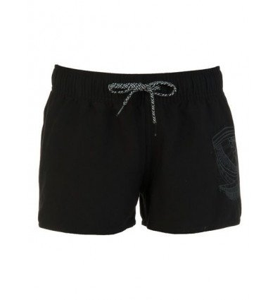 Short de plage Protest FOUKE JR (True Black) enfant
