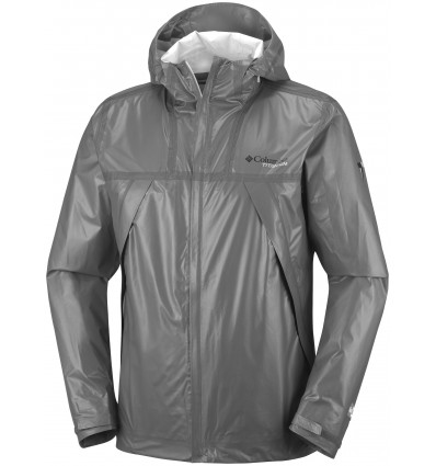 Veste Imperméable Outdry Ex Eco Tech Shell Columbia (Bamboo Charcoal)
