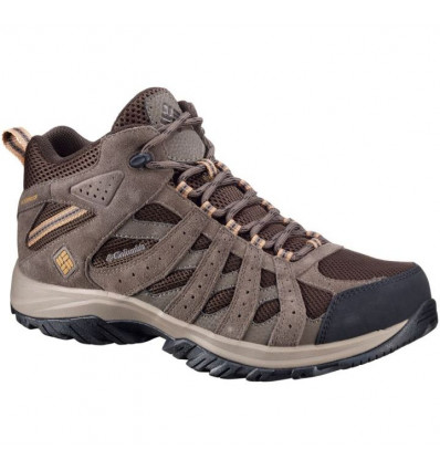Chaussure Columbia Canyon Point Mid Waterproof (cordovan, dark banana) homme