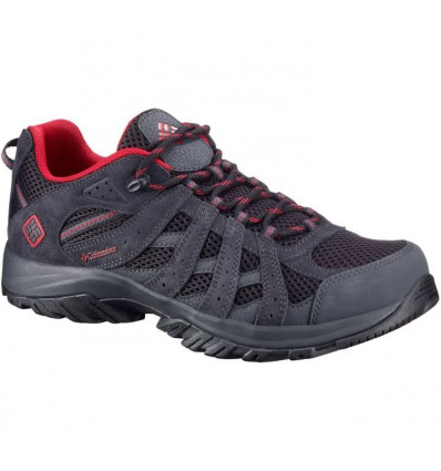 Chaussures Columbia Canyon Point (black, mountain red) homme