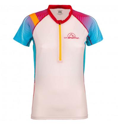 T-shirt Speed La Sportiva (Berry white) femme