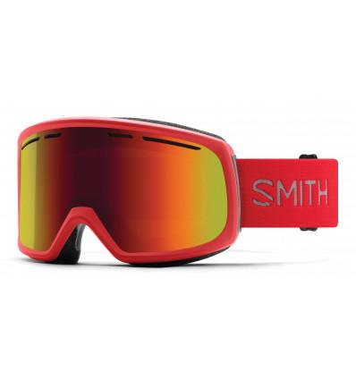 Masque de ski SMITH RANGE (Rise/red solx)