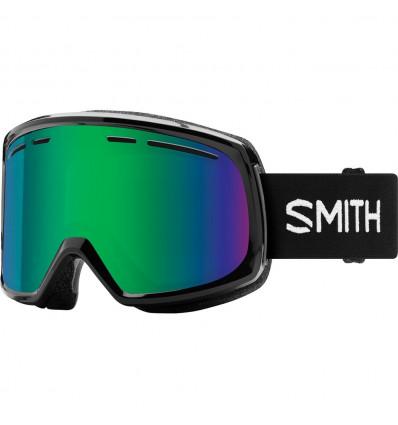 Masque de ski SMITH RANGE (black/green solx)