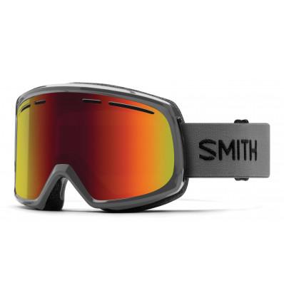 Masque de ski SMITH RANGE (Charcoal/Red Solx)