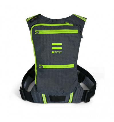 Fitly innovative running pack mojito green