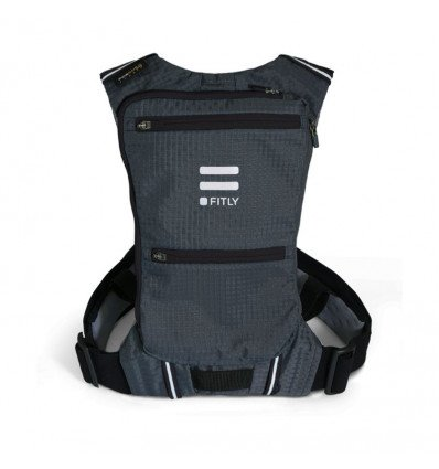 Fitly innovative running pack classy black