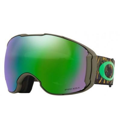 Masque de ski AIRBRAKE® XL PRIZM™ Ski Oakley (Camo vine jungle - Prizm snow jade iridium)