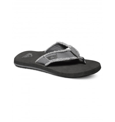 Tongs Quiksilver MONKEY ABYSS (grey/black/brown) homme
