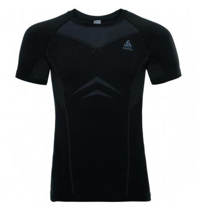 T-shirt Suw Top Crew Neck S/s Performance Light Odlo (Black - Odlo Graphite Grey)