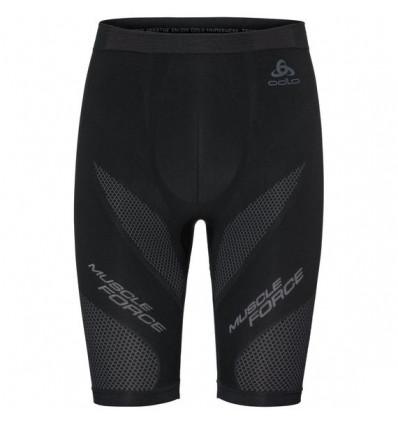Short Muscle Force Odlo (black - Platinum Grey)