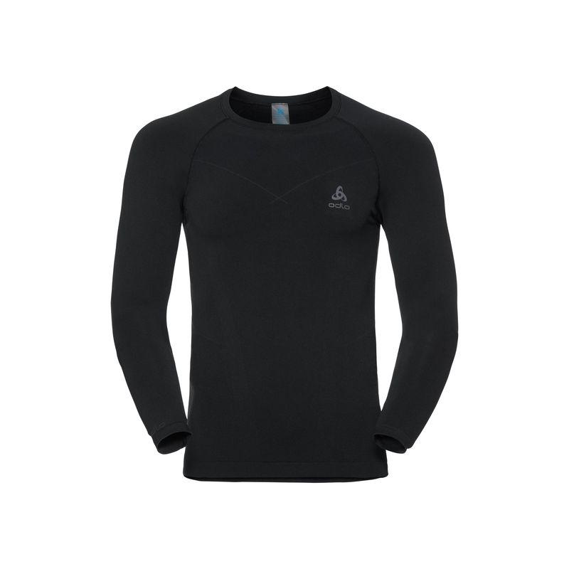 ODLO Mens Shirt L//S Crew Neck Evolution Warm Underwear