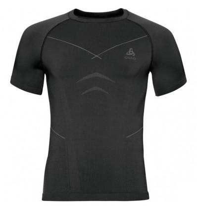 T-shirt S/s Crew Neck Evolution Warm Odlo (black - Odlo Graphite Grey)