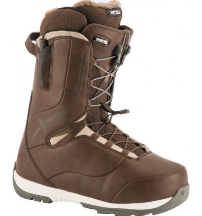 Boots CROWN TLS Nitro Snowboard femme (brown) 2019