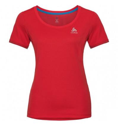 T-shirt Bl Top Crew Neck S/s Kumano F-dry Light Odlo (Fiery red) femme