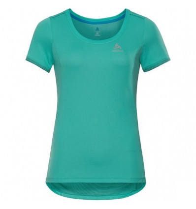 T-shirt Bl Top Crew Neck S/s Kumano F-dry Light Odlo (Pool Green) femme