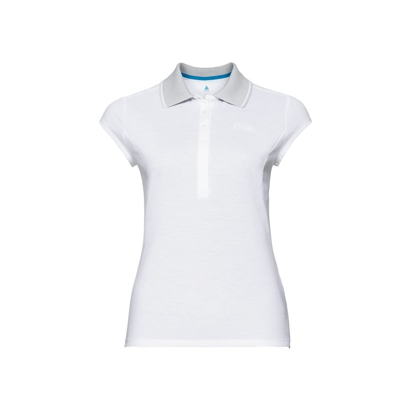 Polo S/s Kumano Odlo (white) femme