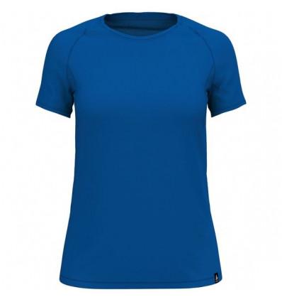 T-shirt Bl Top Crew Neck S/s Koya Ceramiwool Odlo (Energy blue) femme