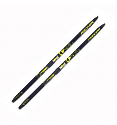 Ski Nordique Sprint Crown Yellow Ifp Fischer