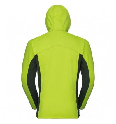 Odlo Hoody Midlayer Full Zip Saikai Jacket Homme