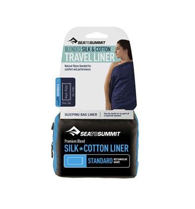 Drap sac en soie coton Standard Sea to Summit