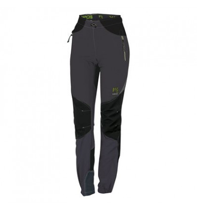 ROCK trousers Karpos (dark grey/black) women