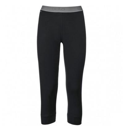 Legging 3/4 Natural 100% Merino Warm Odlo (noir) femme