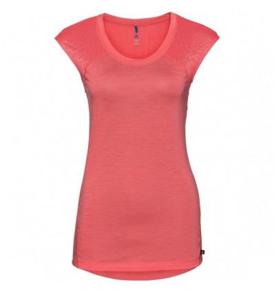 T-shirt NATURAL + CERAMIWOOL LIGHT Odlo (dubarry) femme