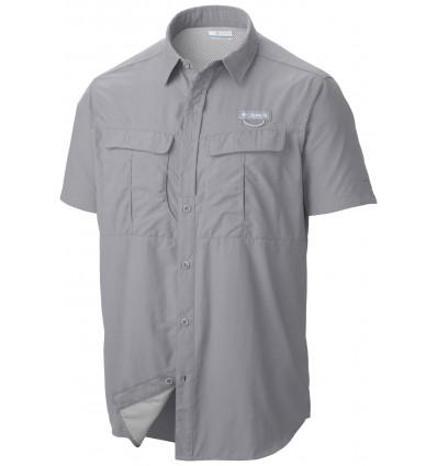Columbia Cascades Explorer Short Sleeve Shirt (columbia Grey)