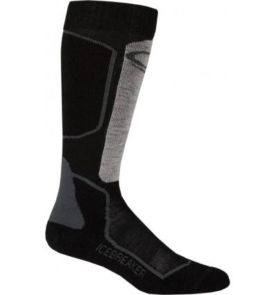 Icebreaker Socks Ski+ Lite Otc M Oil/blk/silver (oil/black/silver)