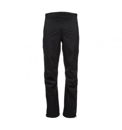 Pantalon pluie STORMLINE STRETCH FULL ZIP Black Diamond (black)