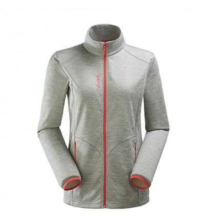 Polar jackets / Softshells Accessory fleece jacket Micro F-Zip woman Lafuma ( Heather Grey ) - AlpinStore