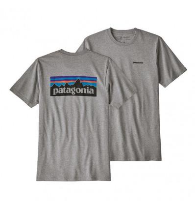 Tee-shirt M's P-6 Logo Responsibili-tee Patagonia (gravel Heather)