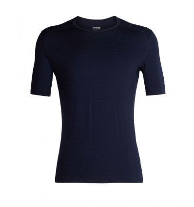 Tee-shirt Mens 200 Oasis Ss Crewe Icebreaker (midnight Navy)