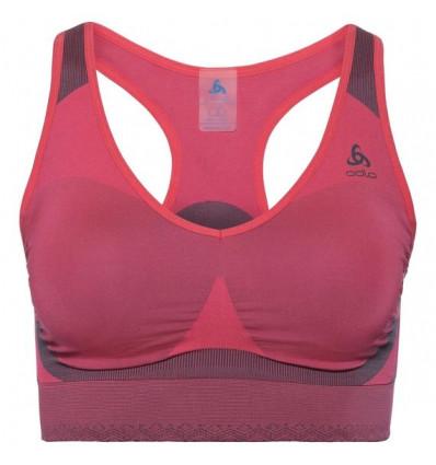 Brassière Sports Bra Seamless High Odlo (Diva pink/odyssey grey) femme