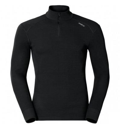 T-Shirt col roulé manches longues L/s Turtle Neck 1/2 Zip Active Ori Odlo (black)