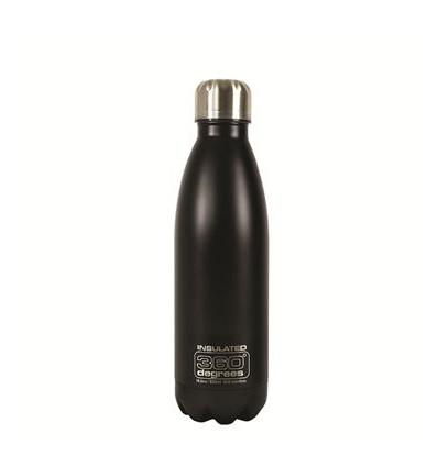 Bouteille Soda Insul 550ml / Soda Insulated 550ml Black Blue 360°