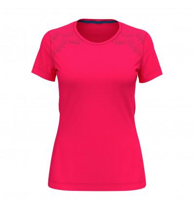 T-shirt Bl Top Crew Neck S/s Core Light Print Odlo (diva Pink - Placed Print Fw18)