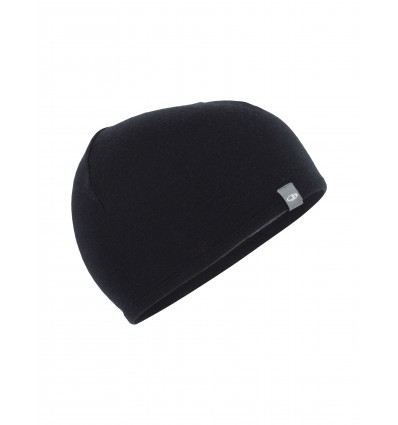 Bonnet Adult Pocket Hat Icebreaker (Black/Gristone heather)
