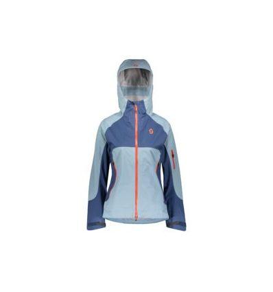 Veste de ski/randonnée SCOTT Explorair 3L (blue haze/denim blue) femme