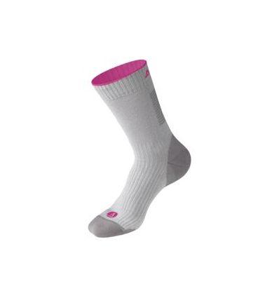 Chaussettes Dolomite Walking (Grey/fuschia pink) mixte