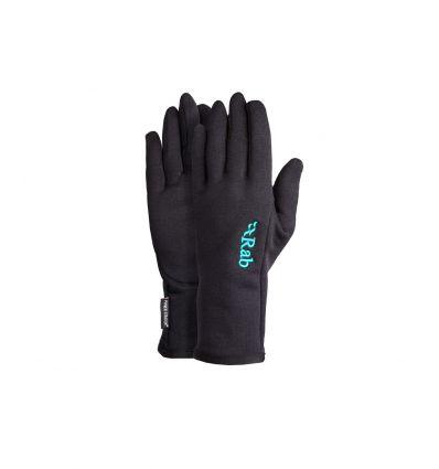 Gants Rab Power Stretch Pro Glove Wmns (Black) femme