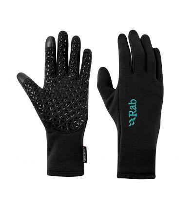 Gants Rab Power Stretch Contact Grip Glove Wmns (Black) femme