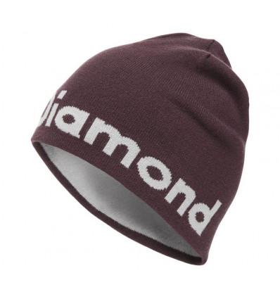 Bonnet Brand Beanie Black Diamond (Bordeaux-aluminum)